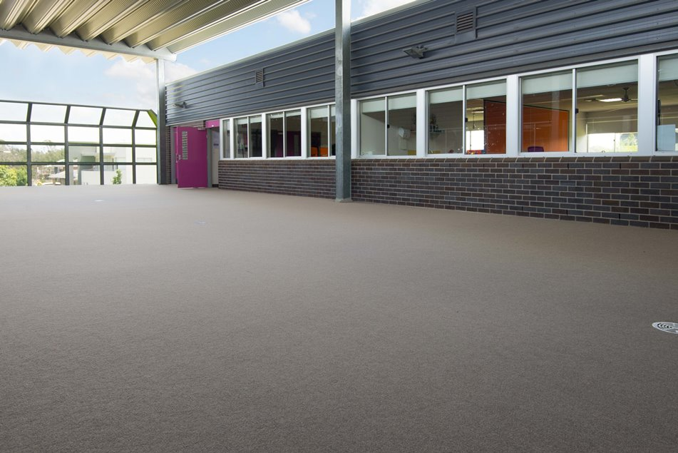 Project spotlight back to school with autex carpet for Indoor outdoor wood flooring